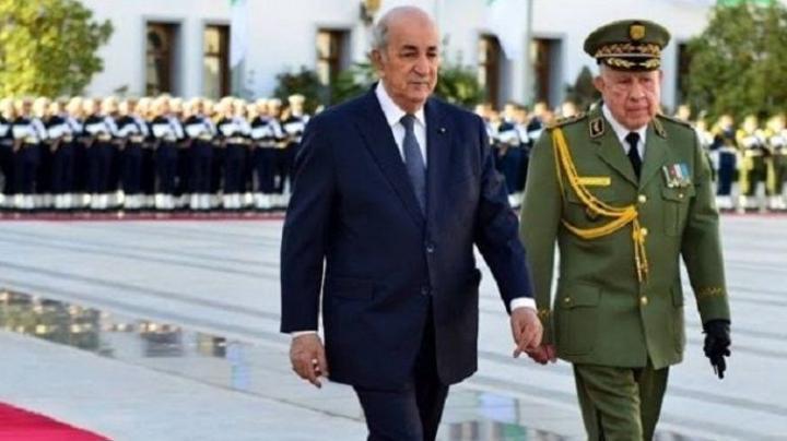 فيديو: عشية الذكرى الثانية للحراك.. الجيش الجزائري يفقد أعصابه ويتهم المغرب