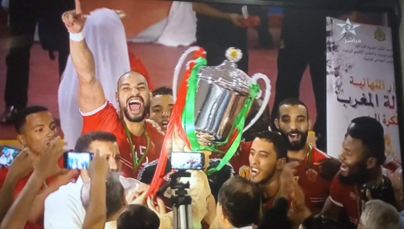 نهائي البطولة الوطنية لكرة اليد: فريق وداد السمارة يتوج باللقب عقب فوزه على فريق الجيش الملكي