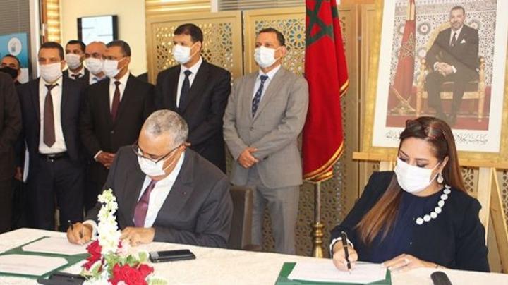 بوشارب توقع بوجدة على اتفاقيات استثمار تفوق 453 مليون درهم