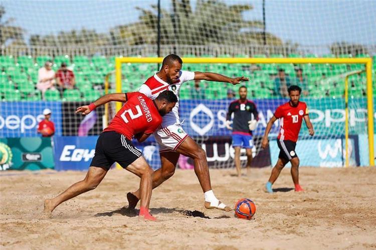 كأس الأمم الإفريقية للكرة الشاطئية: المغرب ومصر في المجموعة الثانية