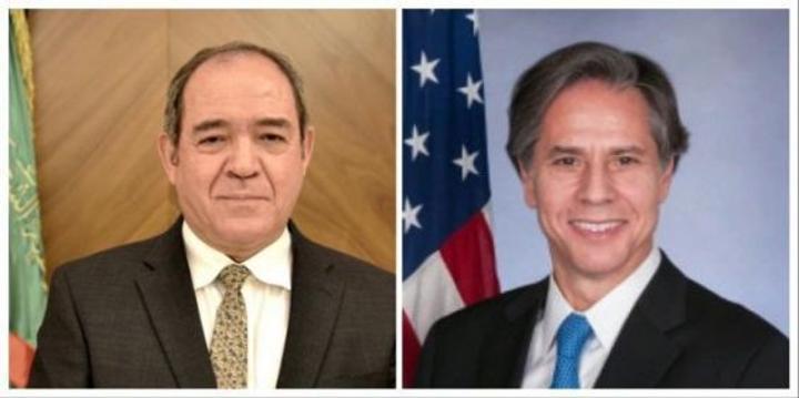 هل ناقش وزيرا خارجية الولايات المتحدة والجزائر قضية الصحراء؟