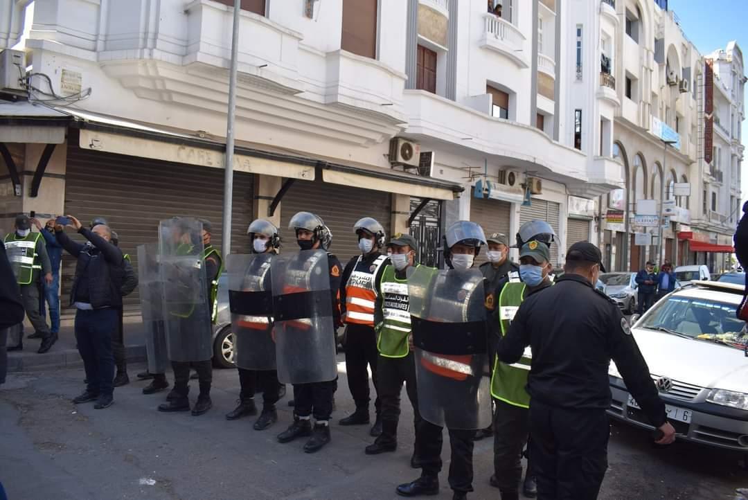 الدار البيضاء: منع وقفة تضامنية مع عمر الراضي وسليمان الريسوني