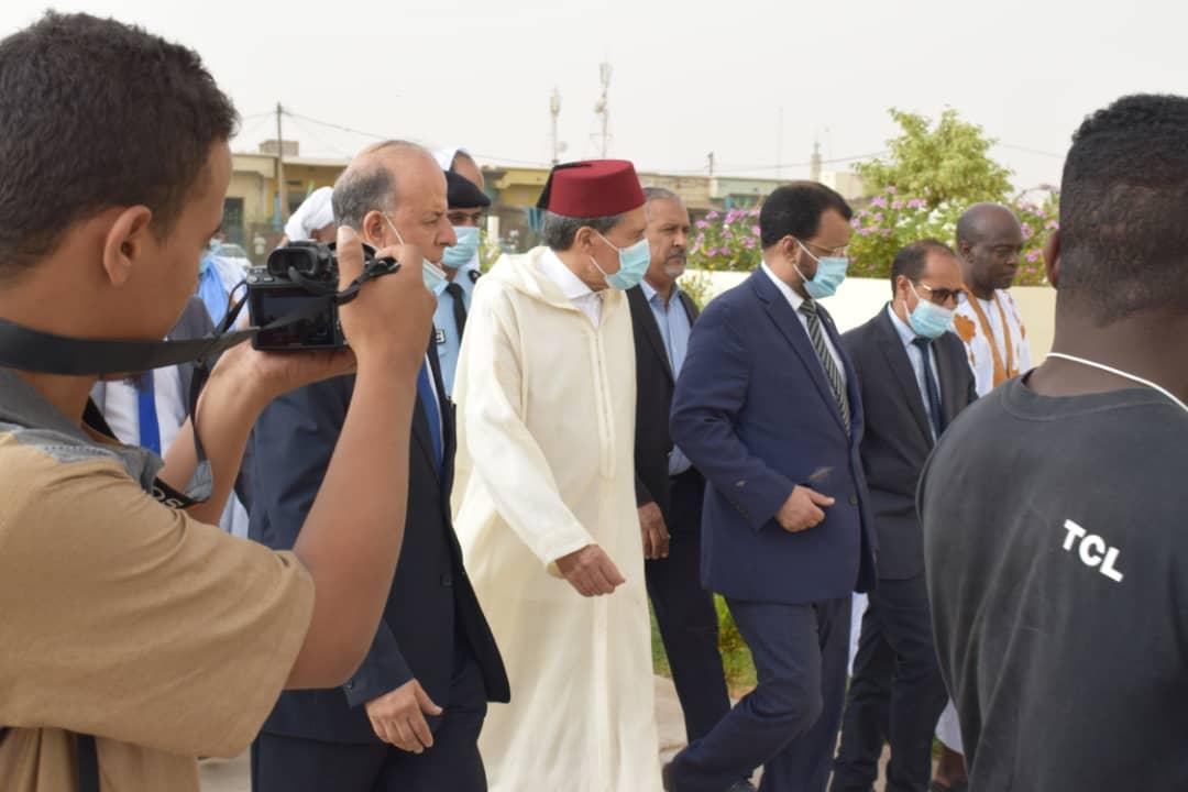 إعادة افتتاح مسجد الحسن الثاني والمركز الثقافي المغربي بنواكشوط بعد إصلاحهما