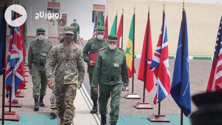 بالفيديو: انطلاق التدريبات العسكرية المغربية-الأمريكية