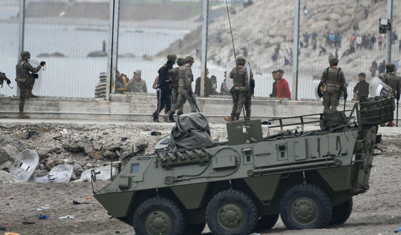 أزمة الهجرة في سبتة: غضب وتذمر في صفوف الجنود الإسبان