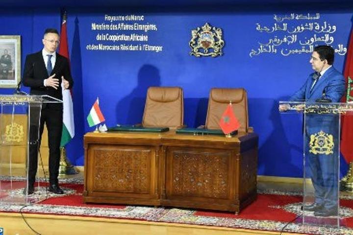 هنغاريا تجدد دعمها لمخطط الحكم الذاتي ولجهود التنمية في المنطقة