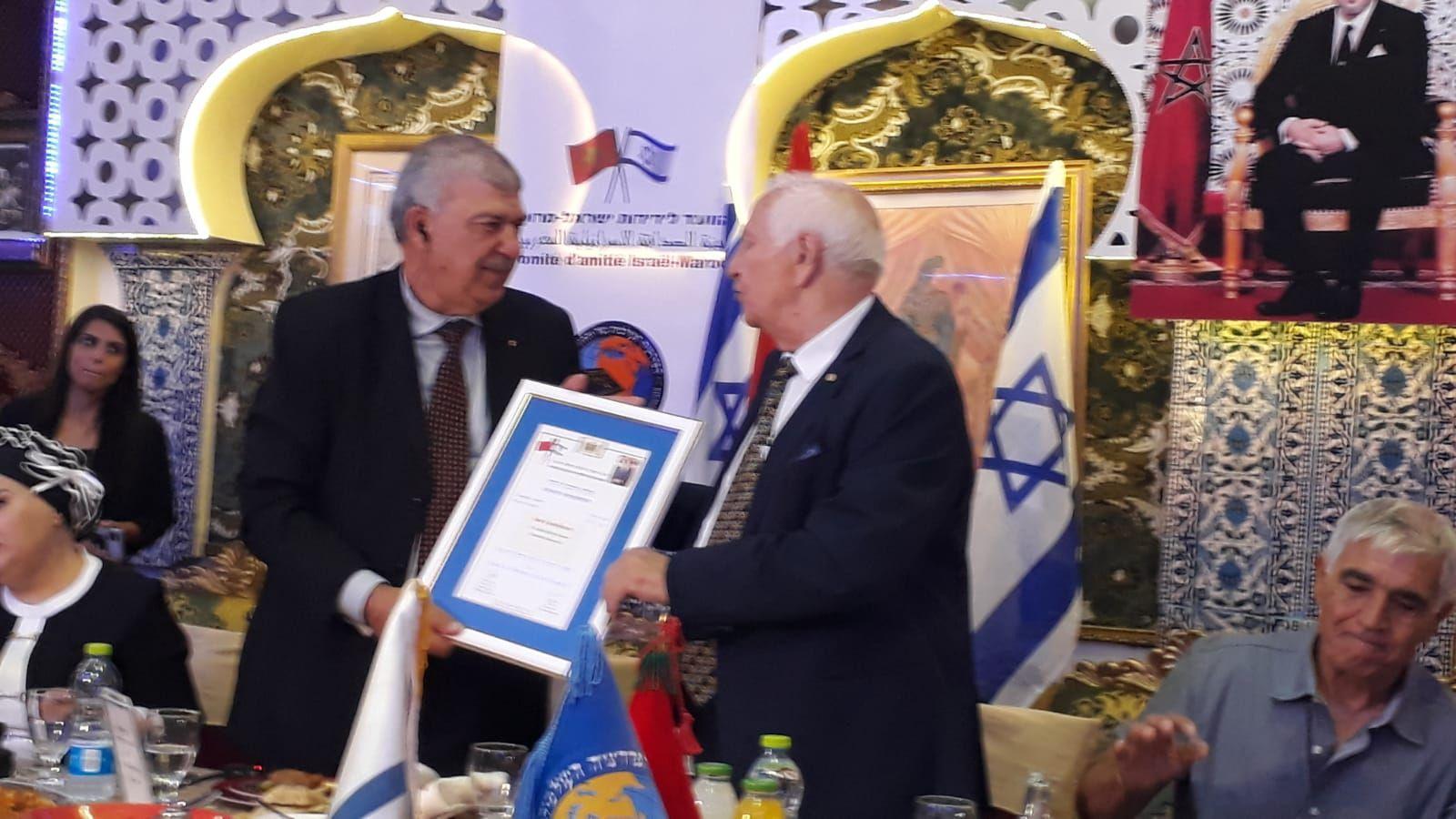 القدس: انعقاد جلسة للجنة الصداقة الاسرائيلية المغربية بحضور الرحيم بيوض و مائير بن شابات