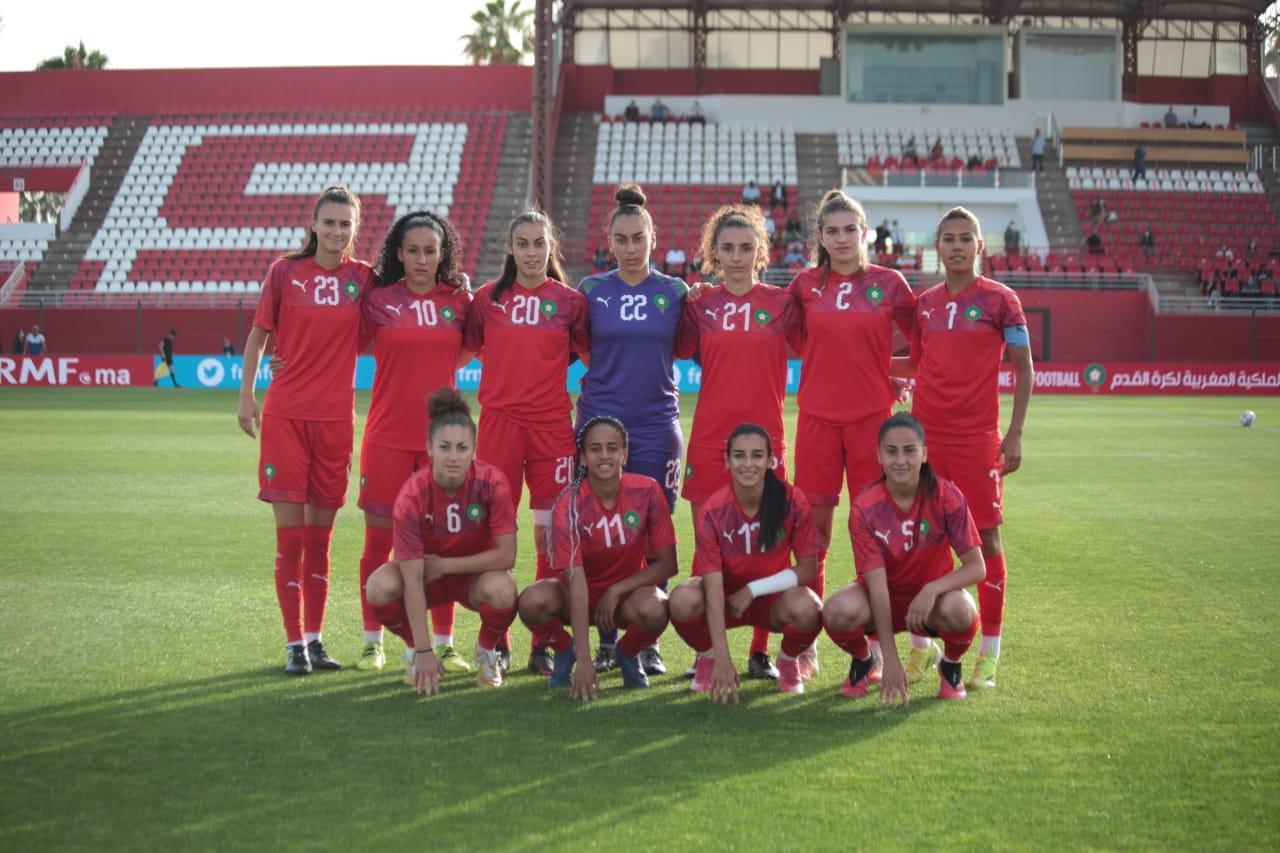 مباراة ودية: المنتخب الوطني النسوي لكرة القدم يفوز على نظيره المالي