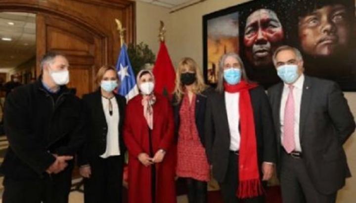 معرض لفنانين مغاربة وأمريكيين لاتينيين في مجلس الشيوخ الشيلي