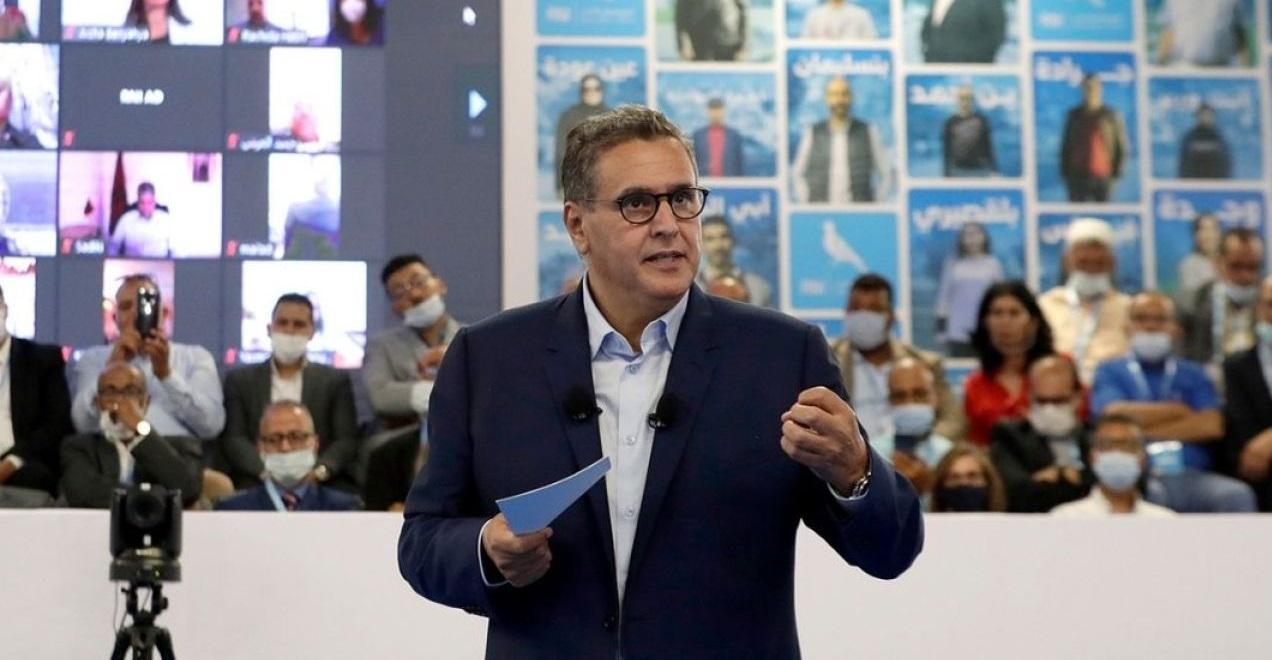 أخنوش: وعود الأحرار الانتخابية ستشكل قاعدة للتفاوض مع الأحزاب السياسية لتشكيل الحكومة