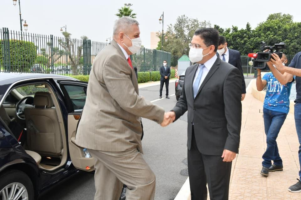بوريطة يستقبل المبعوث الأممي إلى ليبيا