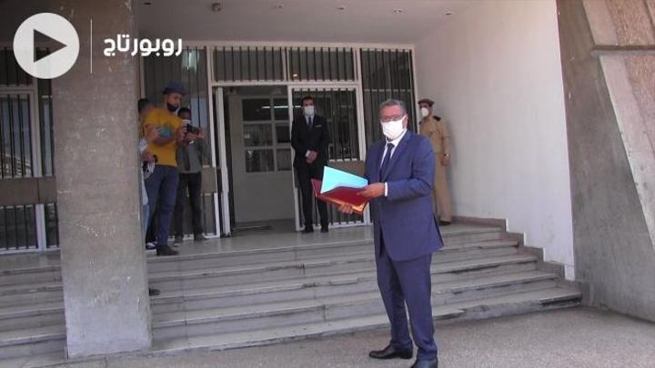 بالفيديو: أخنوش يضع ترشيحه لرئاسة المجلس الجماعي لأكادير