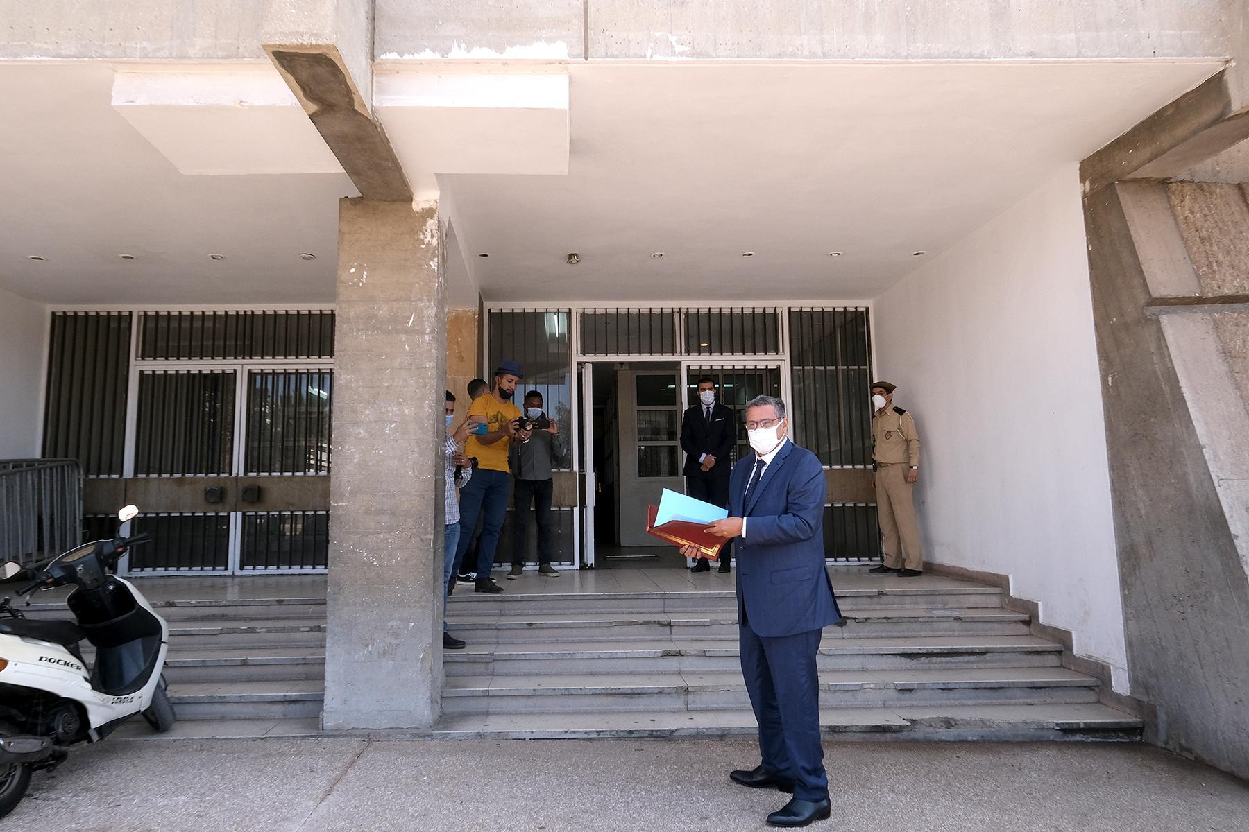أخنوش يضع ملف ترشحه لرئاسة جماعة أكادير