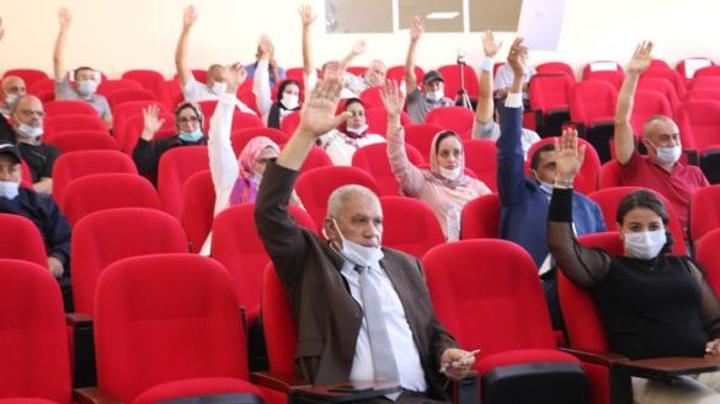 بالصور: انتخاب التجمعي بايا رئيسا لجماعة خنيفرة