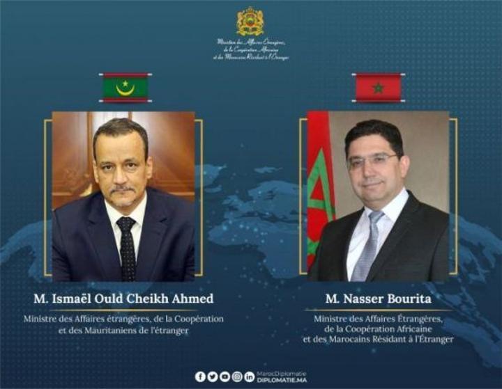 ناصر بوريطة يجري اتصالا هاتفيا مع نظيره الموريتاني