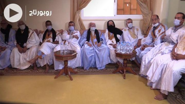 بالفيديو: شيوخ قبائل الصحراء المغربية يجددون الولاء للملك بعد نجاح الانتخابات