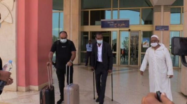 عودة المغربي الذي أصيب في هجوم مالي إلى المغرب