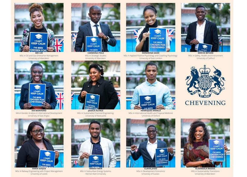 11 young Mozambicans heading to the UK on Chevening Scholarships