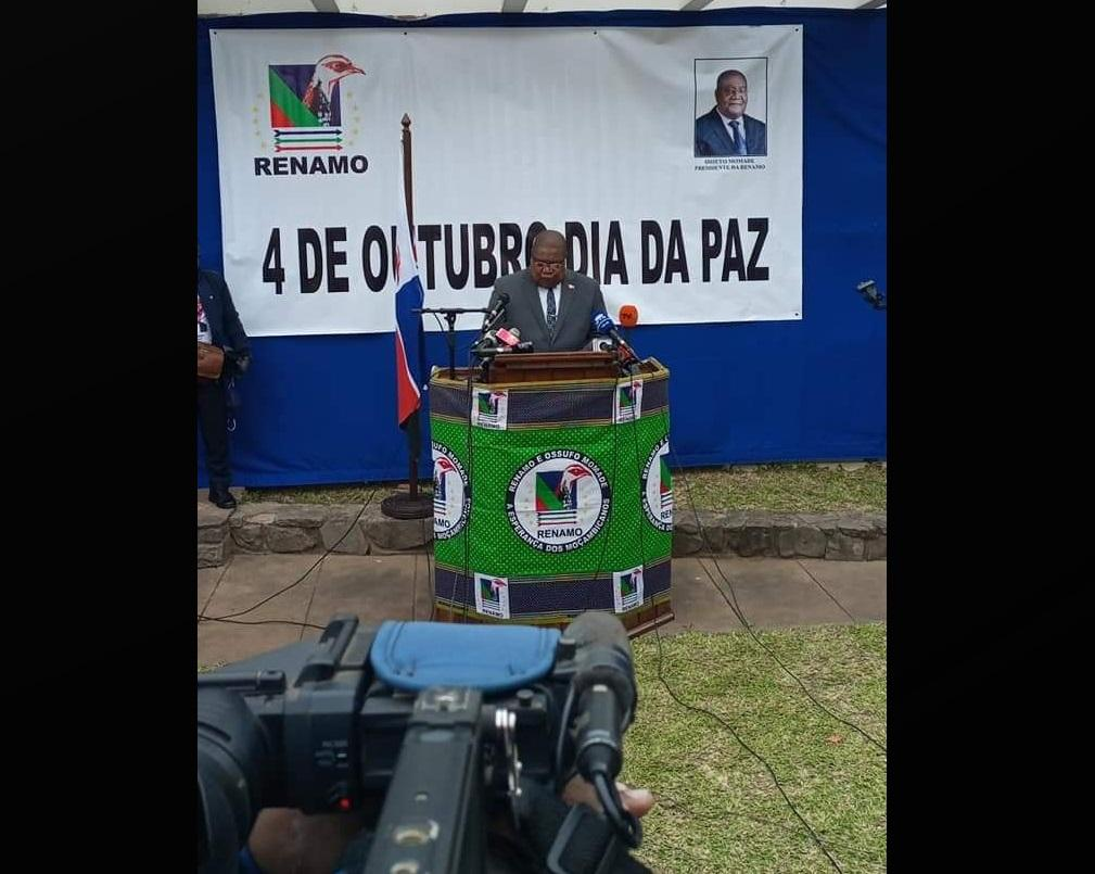 Mozambique: Renamo leader warns that exclusion is an obstacle to peace