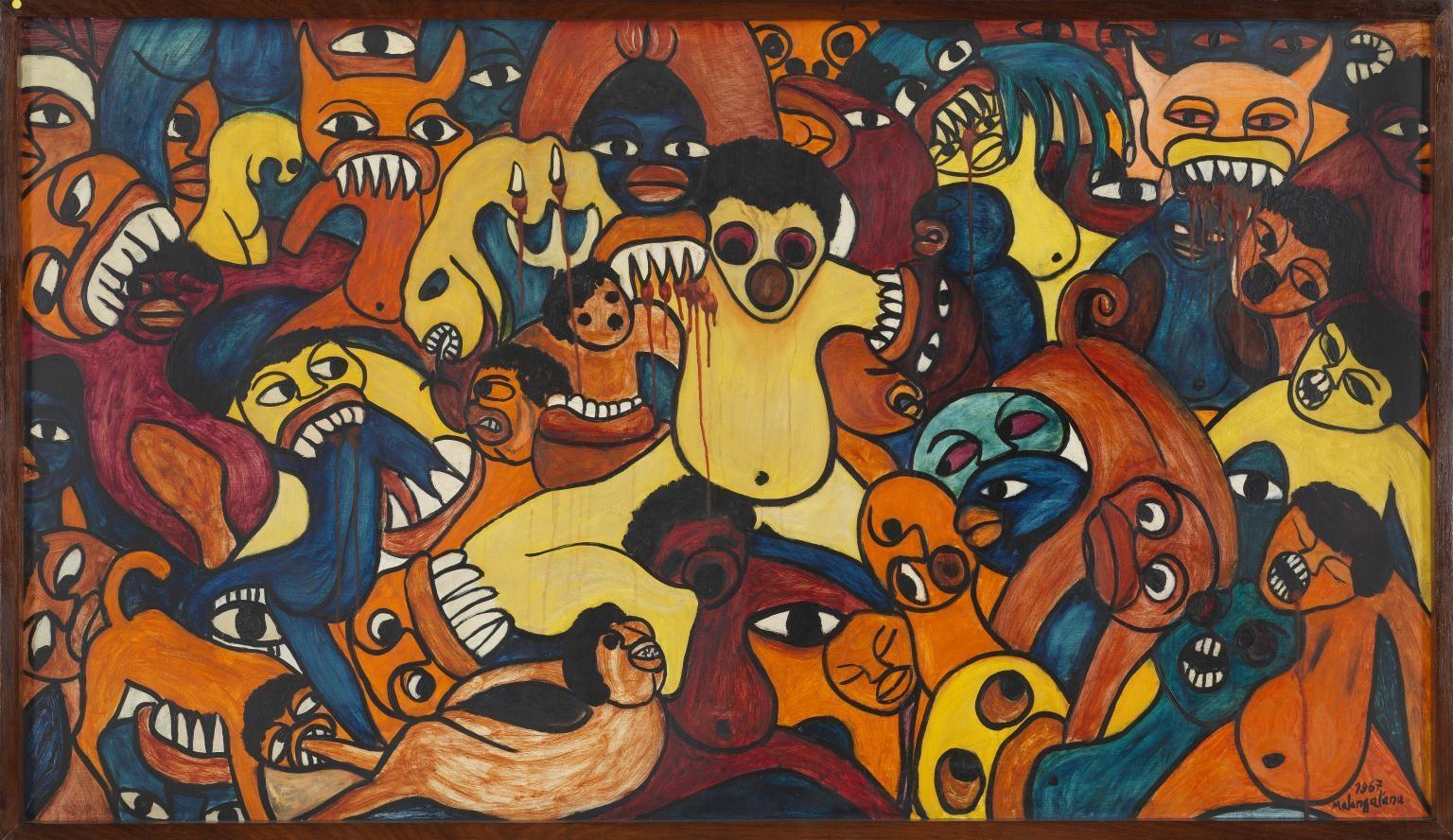 Surrealism Beyond Borders   Malangatana featured in exhibit at The Met, New York
