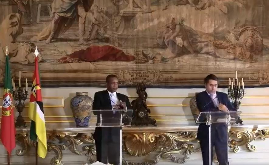 Mozambique: Government thanks Lisbon for support in fight against terrorism – Watch