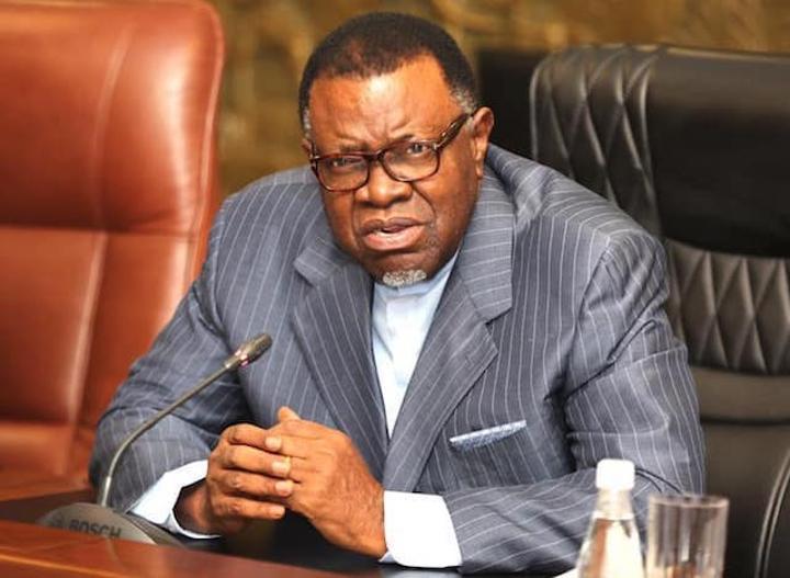 Economic recovery hampered by coronavirus - Geingob - The Namibian