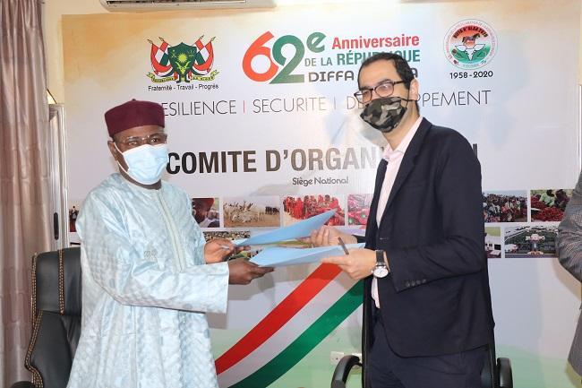Diffa N'glaa : Signature de convention entre le comité d'organisation et la Société Haroun Printing