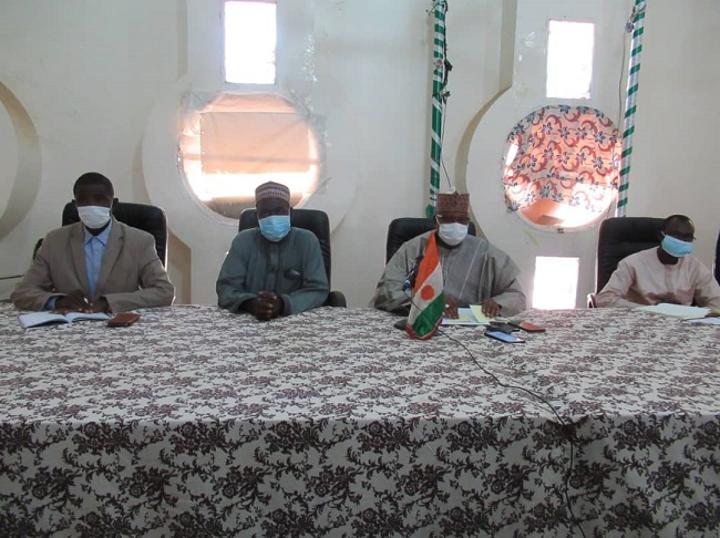 Tillabéri : Le Gouverneur rencontre les acteurs humanitaires de la région