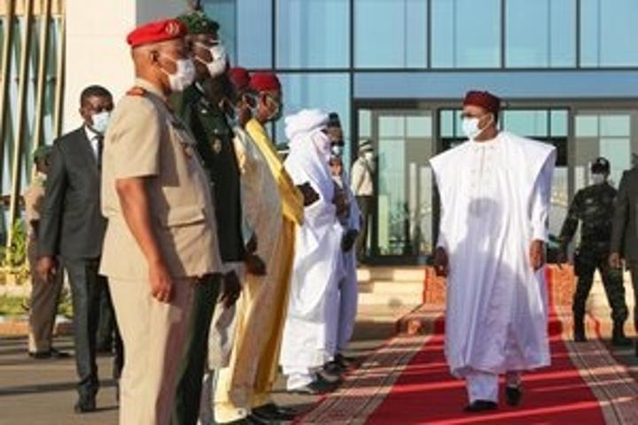 Le Président de la République quitte Niamey pour Accra au Ghana