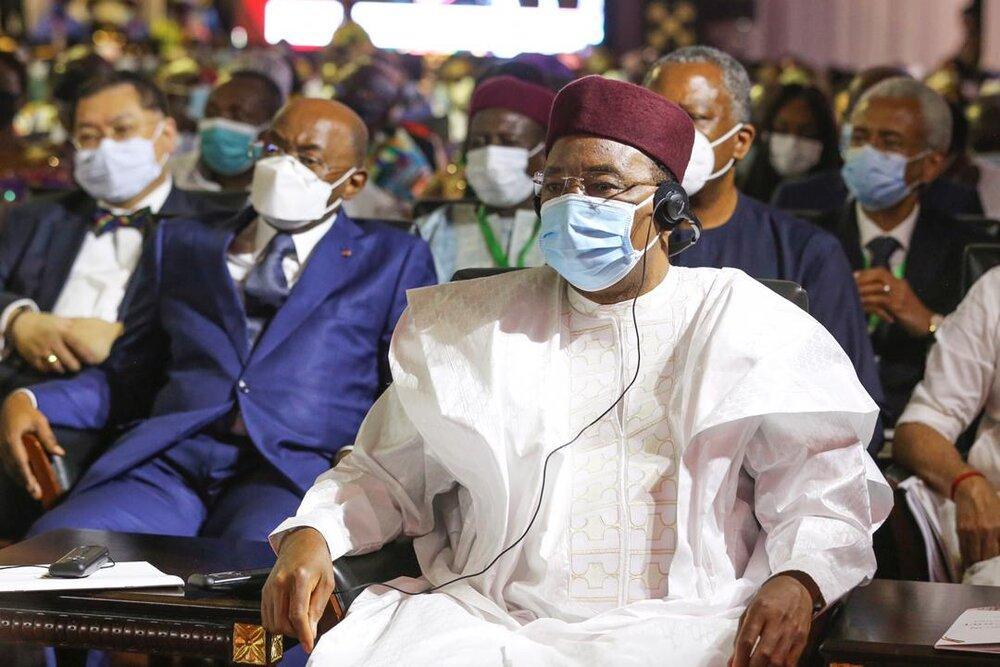 Le Président Issoufou Mahamadou prend part à la cérémonie d'investiture du Président élu du Ghana