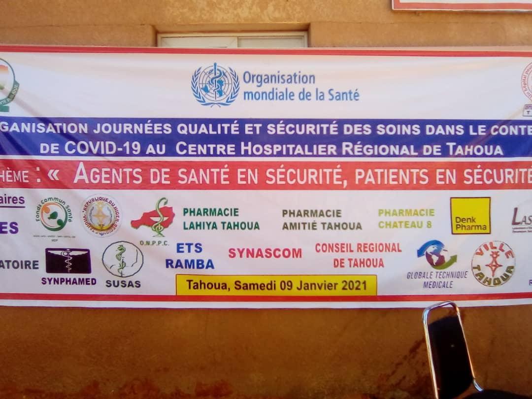 Lancement de la 8ème édition de la journée qualité et sécurité des soins de santé du centre hospitalier régional de Tahoua