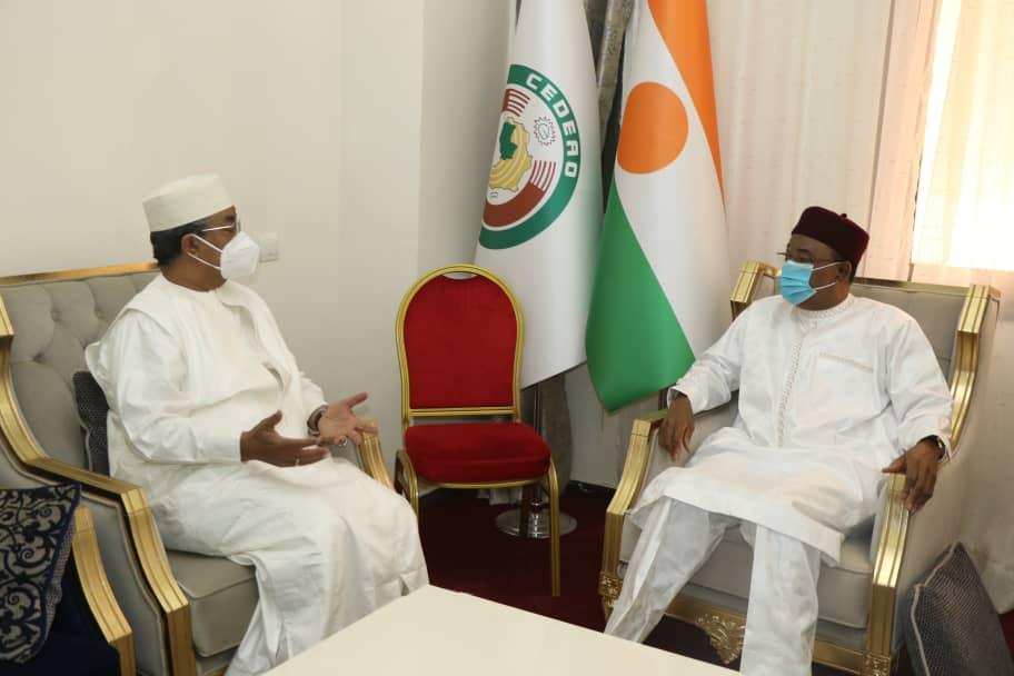 Niamey : Le chef de la MINUSMA reçu par le Président de la République Issoufou Mahamadou