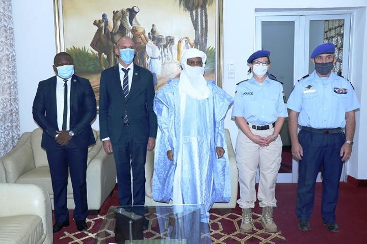 Le chef de la Mission Eucap Sahel Niger fait ses adieux au Premier Ministre Brigi Rafini
