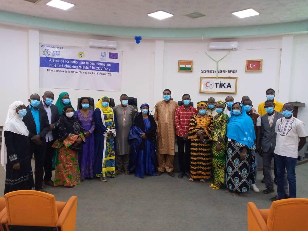 Niger : Formation des journalistes sur la désinformation et le fact-checking relatifs à la Covid-19