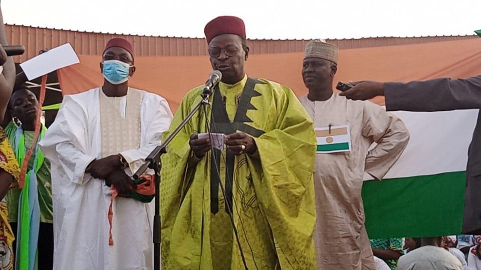Le candidat Mahamane Ousmane du RDR Tchandji invite les populations à voter en faveur du changement