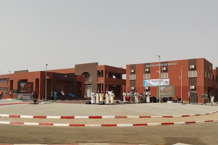 Inauguration du nouveau marché central de Tahoua : Booster l'économie d'une ville en plein essor commercial