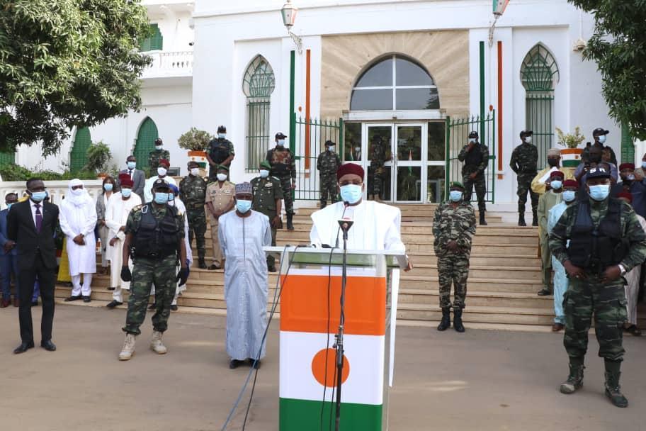 En fin de mandat, le Président Issoufou Mahamadou reçoit les hommages des ses plus proches collaborateurs