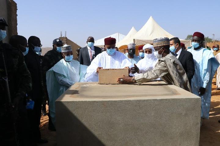 Lancement à Niamey des travaux de construction du Centre culturel Boubou Hama