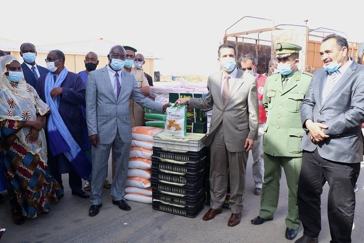 L'Algérie fait don de 58 tonnes de produits alimentaires au Niger