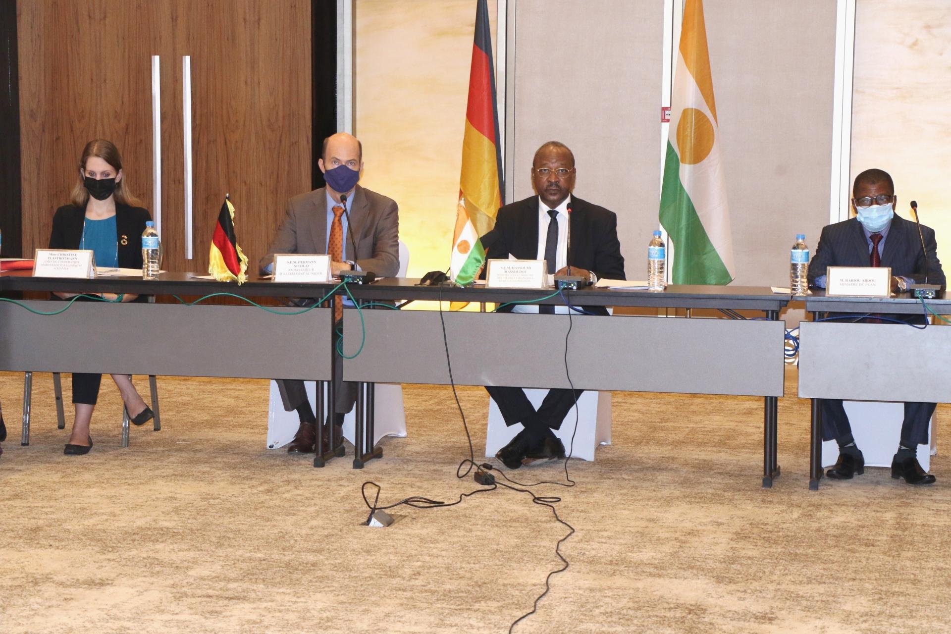 Ouverture à Niamey des négociations intergouvernementales sur la coopération Nigéro-Allemande