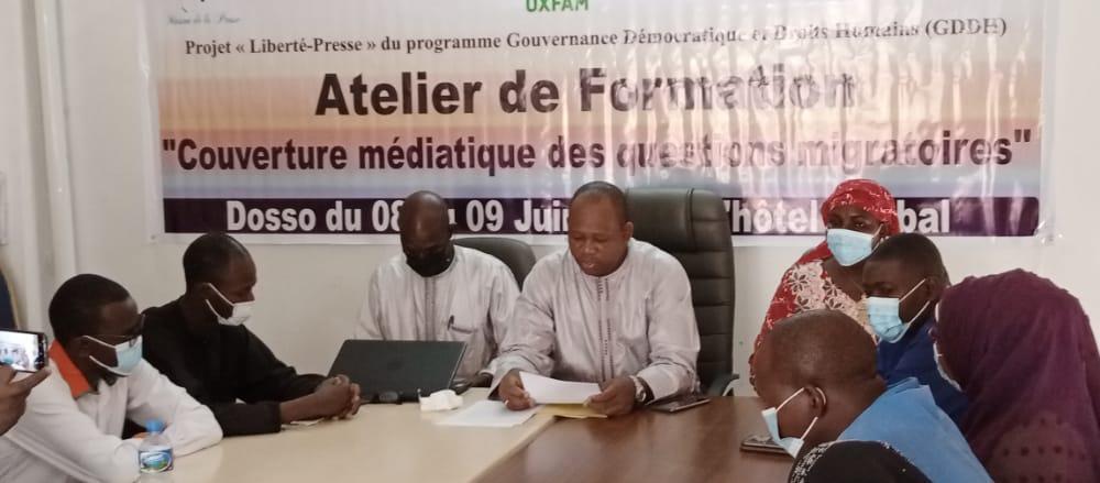Dosso: Atelier de renforcement des capacités des journalistes sur les questions de migration au Niger
