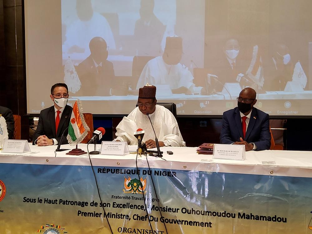 Niamey : Le Premier Ministre préside la cérémonie d'ouverture du 2ème colloque panafricain d'huissiers de justice et officiers judiciaires à Niamey