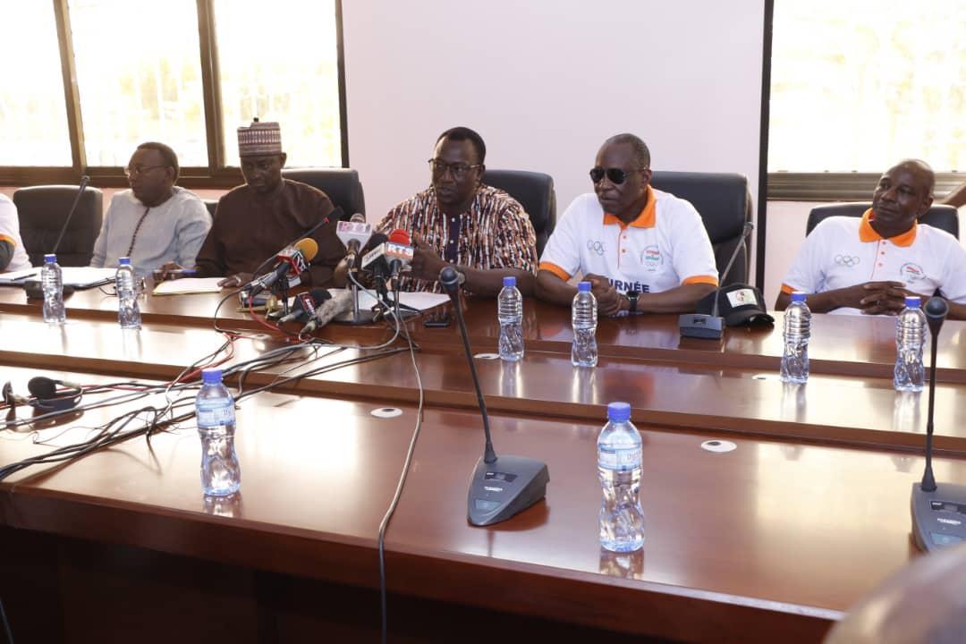 La journée olympique 2021 célébrée sous le thème ''défis et enjeux de la préparation du Niger pour les jeux de Tokyo 2020''
