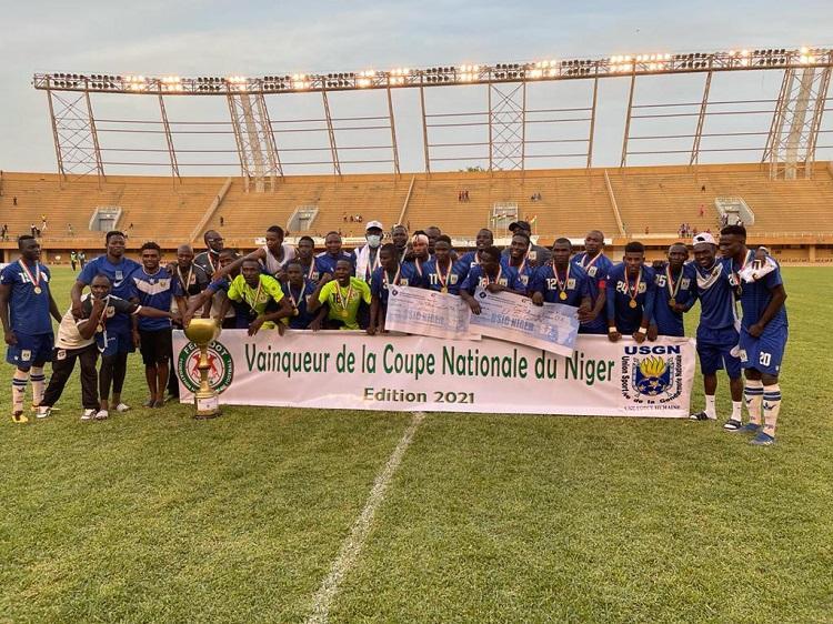 Football : L'Union Sportive de la Gendarmerie Nationale remporte la Coupe nationale du Niger