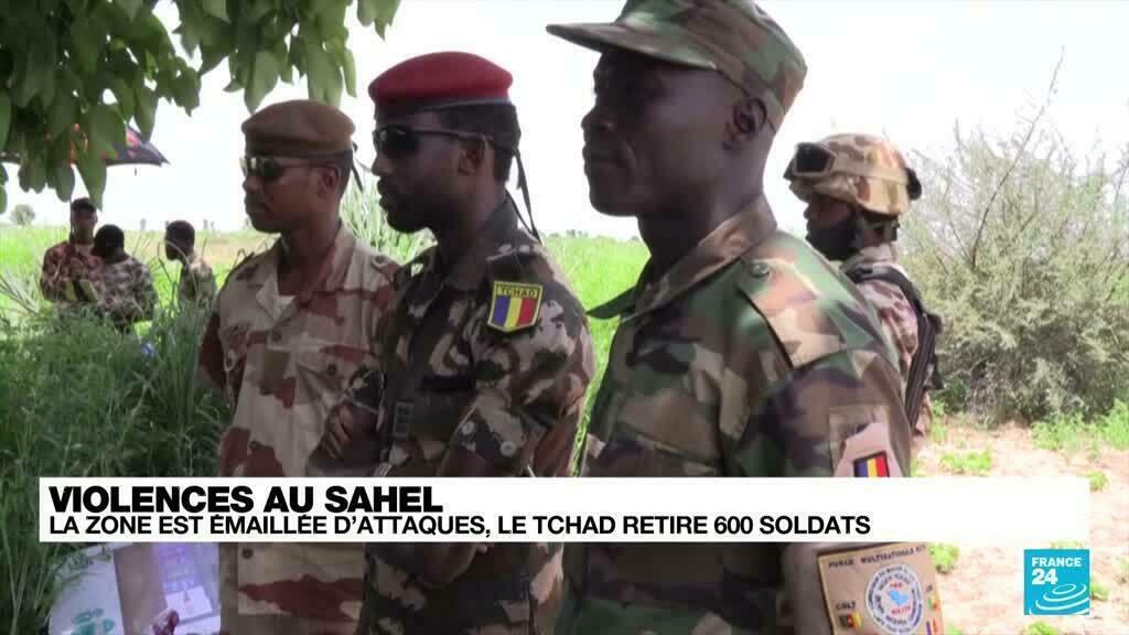Violences au Sahel : la zone émaillée d'attaques, le Tchad retire 600 soldats