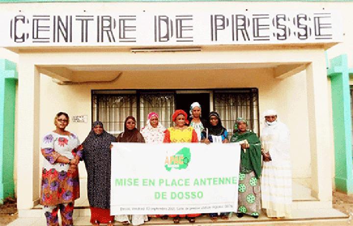 Dosso : Installation de l'antenne locale de l'Association des Professionnelles Africaines de la Communication (APAC)