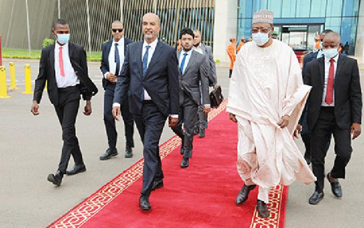 Fin de visite de travail du Vice-Président du Conseil présidentiel de l'Etat libyen au Niger : M. Moussa Al koni a quitté Niamey hier dans la matinée