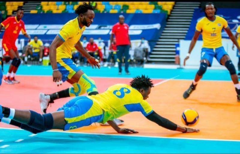 Volley-ball/CAN 2021: les Léopards l'emportent difficilement devant le Mena du Niger et conservent leur chance de qualification au 2ème tour
