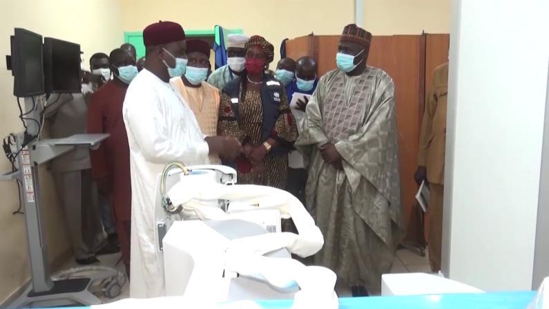 Le Ministre de la Santé Publique en mission de travail dans la région effectue plusieurs visites à Zinder