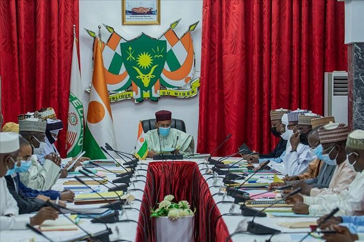 Conseil des ministres : adoption de plusieurs projets de textes dont le projet de loi portant ratification de l'ordonnance n° 2021-06 du 02 août 2021, portant prorogation de l'état d'urgence sur toute l'étendue du territoire de la république du Niger